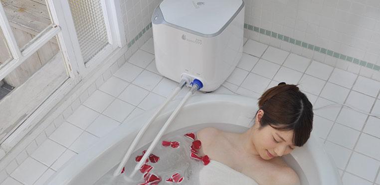 自宅のお風呂をマイクロバブルと水素で満たす 水素マイクロバブル温浴機器湯エステ(SUISO599 Bath)の無料お試し!